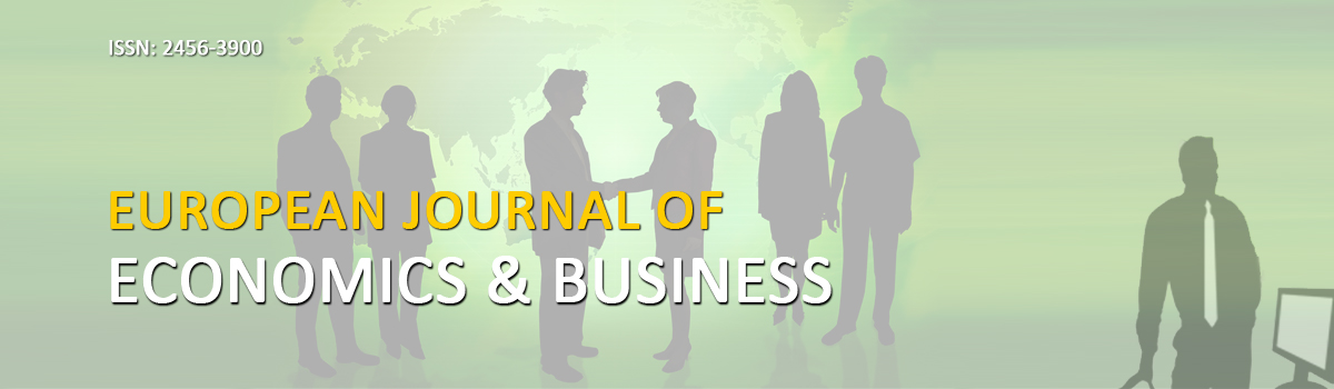 European Journal of Economic and Business (ISSN - 2456-3900)